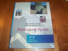 The World Book Encyclopedia of People and Places U-Z Book 6 NEW PUBLISHER SEALED
