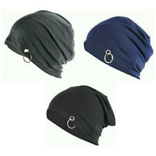 pack of 3 Beanie Cap with Ring for Men and Women Free Size,Stretchable