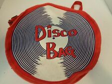 Vintage Record Holder Purse Disco Bag Vinyl Record Carrier Canvas Bag