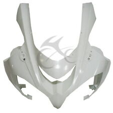 UPPER FRONT FAIRING COWL NOSE ABS Plastic FOR 04 KAWASAKI ZX10R ZX-10R 2004-2005