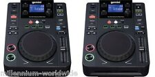 2 GEMINI CDJ 300 MEDIA PLAYER TWIN DJ SET - CD MP3 USB, CDJ300 Authorized Dealer