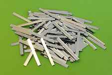 Mosaic Mirror Tiles Craft- 60mmx5mm Strips -100 Pieces per packet- 2mm Thickness