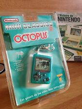 NINTENDO MINI CLASSICS GAME & WATCH OCTOPUS 1 ière EDITION 1998 FRANCAISE RARE