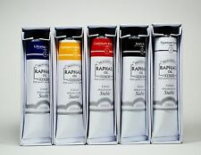 Primary Oil Color Set - Palette of Five 200 ml tubes by Raphael Oil Colors 7014P