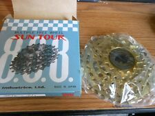 NOS New Old Stock Suntour 888 Gold Pro Compe FreeWheel 1/2 by 3/32 5 Speed 14-34