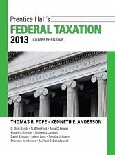 Prentice Hall's Federal Taxation 2013 Comprehensive 26th Edition