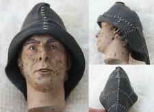 """Male Peasant Head for SideShow 1/6 scale 12"""" Action Figure. Dragon BBI Knight"""