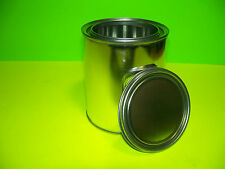 QUART SIZE EMPTY METAL PAINT CAN WITH LIDS NEW UNUSED CASE OF 56 CANS AND LIDS