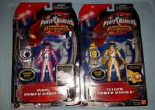 POWER RANGERS Pink Yellow LOT Operation Overdrive MEGAFORCE Sentai Figure MOC