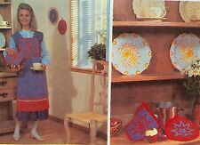 McCalls Crafts Sewing Pattern KITCHEN ACCESSORIES Apron Wall Hanging Pillows