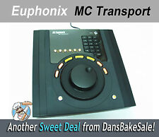 Euphonix MC Transport Control Surface w/ Power Supply and Stand - Used for Demo