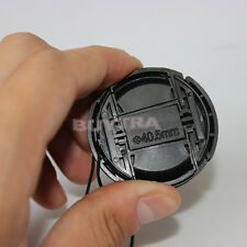 Oh Snap! 40.5 mm Center Pinch Snap on Front Cap Cover For Sony Lens Filter OZYY