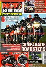 MOTO JOURNAL 1912 KAWASAKI Z750 DUCATI 796 Monster BMW F800 R HP2 YAMAHA FZ8
