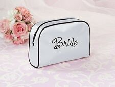 New Bride Bridesmaid Maid of Honor Travel Bag Wedding Bridal Party Gift Favours