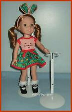 """New KAISER Doll Stand fits 14.5"""" American Girl WELLIE WISHERS - U.S. Ships Free"""