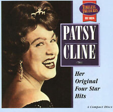 Her Original Four Star Hits by Patsy Cline (CD Aug-2005 on 4 Discs) - Brand New