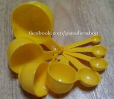 8pcs Yellow Measuring Cups and Spoons  Set