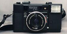 KONICA C35 AF 35mm VINTAGE Film Camera HEXANON 38mm F2.8 Lens VERY CLEAN