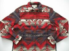 DENIM & SUPPLY RALPH LAUREN Men's Southwestern Thick Winter Jacquard Shirt M