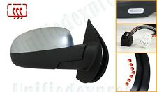 SATIN-CHROME Right Power Fold Mirror-Heat+Memory+LED Signal+Puddle~GM Pickup SUV