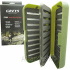 Greys GS Small Slot Green Fly Fishing Trout Flies Box GGSS010