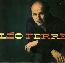 LEO FERRE. GILBERT SIGAUX. ED DE L'HEURE. ALBUMS DE LA CHANSON. 1962