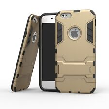 Heavy Duty Workman Tank Shockproof Tough Armour Case for iPhone 5/5s/SE Gold