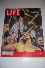1960 LIFE Magazine Senator JOHN F KENNEDY Democratic Convention KENNEDY WINS