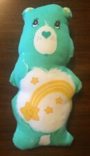 "Vintage 1983 12"" Care Bear ""Wish Bear"" Stuffed Cloth Panel"