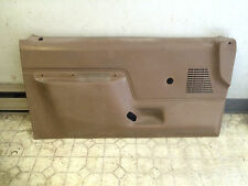 87-91 Ford F150 F250 F350 Pickup Bronco Left Driver Manual Front Door Trim Panel
