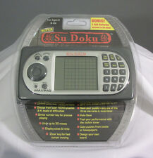 Super Sudoku MAXIMO Portable Electronic Handheld Game Travel 2009 16,000 Puzzles