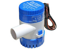 MARINE ELECTRIC BILGE PUMP 12V 1100GPH FOR BOAT, CARAVAN, RV – FIVE OCEANS