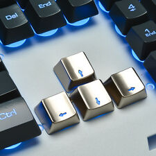 Zinc Transparent Up Down Left Right 4 Cherry MX Key Caps for Mechanical Keyboard