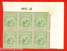 SG. 427 wi. N43 (1). 9d Olive green. A SUPERB unmounted mint control.