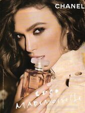 Publicité Advertising 2011  Parfum COCO Mademoiselle de CHANEL