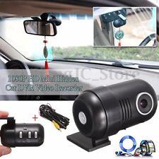 1080P HD Rear View Car DVR Hidden Dash Camera Black Box G-Sensor Video Recorder