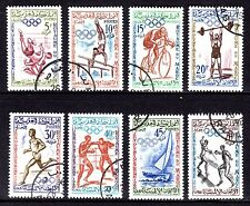 Morocco - 1960 Olympic games Rome - Sc. 45-52 VFU