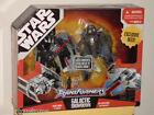STAR WARS TRANSFORMERS GALACTIC SHOWDOWN 2 FIGHTERS DARTH VADE R, OBI-WAN KENOBI