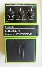 Nobels ODR-1 Natural Overdrive Guitar Pedal
