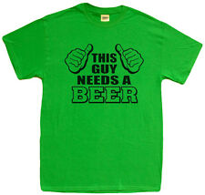 Men's Large - Funny St Patricks Day shirts beer drunk drinking t-shirt green