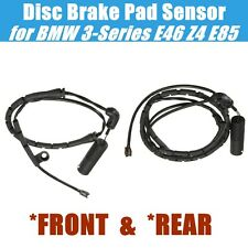 FRONT & REAR Disc Brake Pad Sensor for BMW 3-Series E46 Z4 E85 316 318 320 323