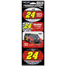 Jeff Gordon 2014 Wincraft #24 Drive to End Hunger Prismatic Decal Sheet FREESHIP