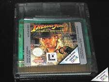 INDIANA JONES AND THE INFERNAL MACHINE GAME USED GAMEBOY COLOR EU SOLO CARTUCCIA