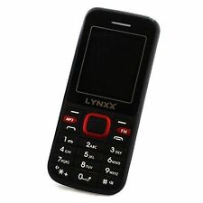 LYNXX X2s GSM PAY AS YOU GO CELL Phone  UNLOCKED. WORLD UNLOCKED GSM PHONES. New