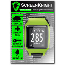 Screenknight Tomtom Multi Sport Gps Reloj Protector De Pantalla Invisible Shield