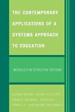 CONTEMPORARY APPLICATIONS OF A SYSTEMS APPROACH TO - NEW PAPERBACK BOOK