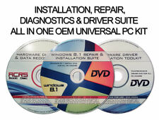 3 DISC INSTALL/RECOVERY/REPAIR WINDOWS 8.1 VERSION-HARDWARE DIAGNOSTIC & DRIVERS