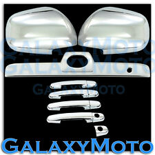 03-09 Toyota 4 Runner Chrome Mirror+Door Handle+Rear Hatch Tailgate Trunk Cover