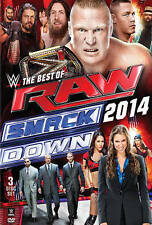 WWE: The Best of Raw and Smackdown 2014 (DVD, 2015)