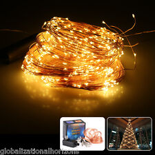 Multi Branch String Lights 720LED Christmas Fairy Twig Glitter Ornaments Decor